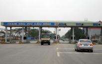 Dừng thu phí trạm cầu Bính