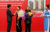 Ngân hàng Đại Á trao thưởng Căn hộ mơ ước 2
