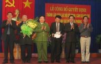Sở cảnh sát PCCC thành lập câu lạc bộ sỹ quan hưu trí