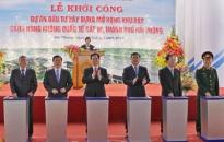 Thủ tướng Nguyễn Tấn Dũng phát lệnh khởi công