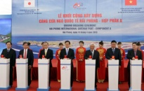 Thủ tướng Nguyễn Tấn Dũng phát lệnh khởi công xây dựng Cảng cửa ngõ quốc tế Hải Phòng