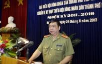 Đại tá Đỗ Hữu Ca tiếp xúc cử tri CATP