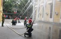 Lực lượng cảnh sát PCCC thành phố tập trung thực hiện 10 nhiệm vụ trọng tâm