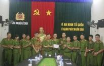 CATP khen đội CSĐTTP về ma tuý CAQ Lê Chân