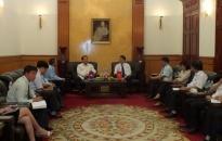 Hợp tác đào tạo giữa Hải Phòng và tỉnh U-đôm-xay