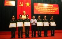 Đảng ủy quân sự thành phố: Tiếp tục đổi mới, nâng cao chất lượng công tác dân vận