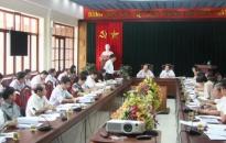 Thành ủy: Lấy ý kiến về thực hiện Nghị quyết TW 7 khóa 10