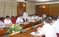 Ban kinh tế Trung ương làm việc với lãnh đạo thành phố