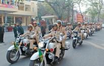 Các lực lượng CATP đồng loạt ra quân bảo vệ ANTT