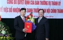 Đồng chí Đặng Bá Cường được bổ nhiệm chức Trưởng ban nội chính Thành ủy