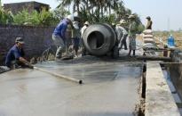 Xã Nam Hưng (Tiên Lãng): Nhân dân hiến 5.700m2 đất làm đường giao thông