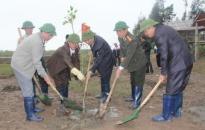 Bí thư Thành ủy Nguyễn Văn Thành dự lễ hội trồng cây tại Tiên Lãng