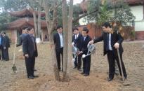 Quận Hồng Bàng tổ chức phát động tết trồng cây
