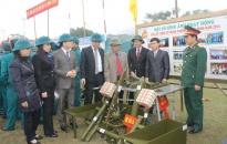 Lực lượng vũ trang các địa phương sôi nổi ra quân huấn luyện