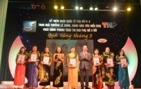 7 phụ nữ xuất sắc nhận giải thưởng Lê Chân 2013