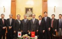 Chủ tịch UBND TP tiếp đoàn công tác tỉnh Niigata (Nhật Bản)