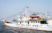 Tàu kiểm ngư Việt Nam áp sát giàn khoan với cự ly 2,8 hải lý