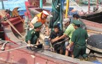 Ban Chỉ huy PCLB-TKCN thông báo về việc sơ tán dân vùng xung yếu