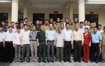 Bí thư Thành ủy Nguyễn Văn Thành thăm nạn nhân chất độc da cam/dioxin