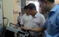 Kiểm tra công tác CCHC Sở Kế hoạch & Đầu tư