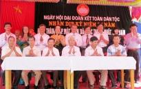 Tổ chức Ngày hội đại đoàn kết toàn dân tộc ở khu dân cư