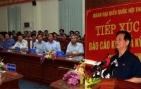 Thủ tướng Nguyễn Tấn Dũng tiếp xúc cử tri huyện Thủy Nguyên