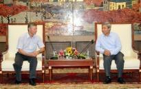 Bí thư Thành ủy tiếp đoàn đại biểu hội hữu nghị Nga - Việt