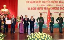 TAND TP.Hải Phòng đón nhận Huân chương Độc lập hạng ba