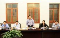 Triển khai công tác phục vụ đại hội Đảng bộ TP lần thứ 15