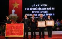 Thanh tra Hải Phòng đón nhận Huân chương Lao động hạng ba