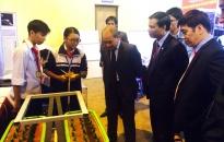 100 sản phẩm tham dự cuộc thi khoa học kỹ thuật học sinh trung học