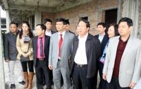 Đầu tháng 8-2016 phải hoàn thành, đưa vào sử dụng Trường THPT chuyên Trần Phú