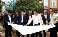 Tập trung GPMB dự án đường Đông Khê 2