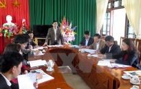 Tổ chức việc lấy ý kiến cử tri nơi cư trú với người ứng cử