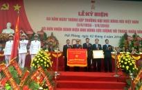 Trường ĐH Hàng hải Việt Nam đón nhận danh hiệu Anh hùng LLVT nhân dân