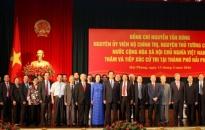 Nguyên Thủ tướng Nguyễn Tấn Dũng cảm ơn cử tri Hải Phòng