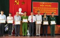 Nhiều tập thể, cá nhân được khen thưởng trong thực hiện Chỉ thị số 03
