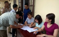 Trên 500 hộ bốc thăm lô tái định cư dự án KĐT Xi măng