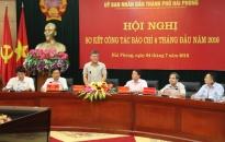 Hội nghị sơ kết báo chí 6 tháng đầu năm