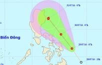 Sắp có cơn bão mới ở biển Đông