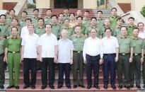 Tổng Bí thư, Chủ tịch nước, Thủ tướng tham gia Đảng ủy Công an TW