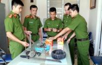 Công an quận Hải An tiêu hủy 37kg pháo