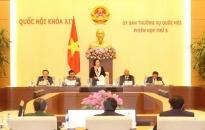 Khai mạc Phiên họp thứ 5 Ủy ban Thường vụ Quốc hội khóa XIV