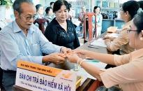 Trên 1.600 lượt người được chi trả BHXH qua bưu điện