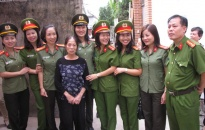 Nữ chiến sỹ công an gương mẫu