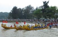 Hội đua thuyền rồng trên biển: Đội Đồ Sơn 1 giành giải nhất