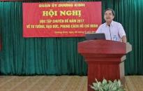 Nguyện theo gương Bác: Quận ủy Dương Kinh học tập và làm theo tư tưởng, đạo đức, phong cách Hồ Chí Minh