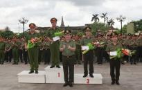 Giải bắn súng ngắn quân dụng Báo An ninh Hải Phòng lần thứ XIV: CAQ Dương Kinh giành giải Nhất toàn đoàn