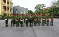 Công an tỉnh Hải Dương: Bế giảng lớp huấn luyện chiến sĩ nghĩa vụ năm 2017