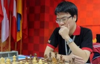 Quang Liêm hạ kỳ thủ Trung Quốc, giữ đỉnh bảng World Open 2017